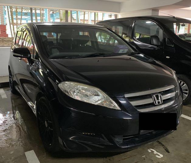 Honda Edix for rental