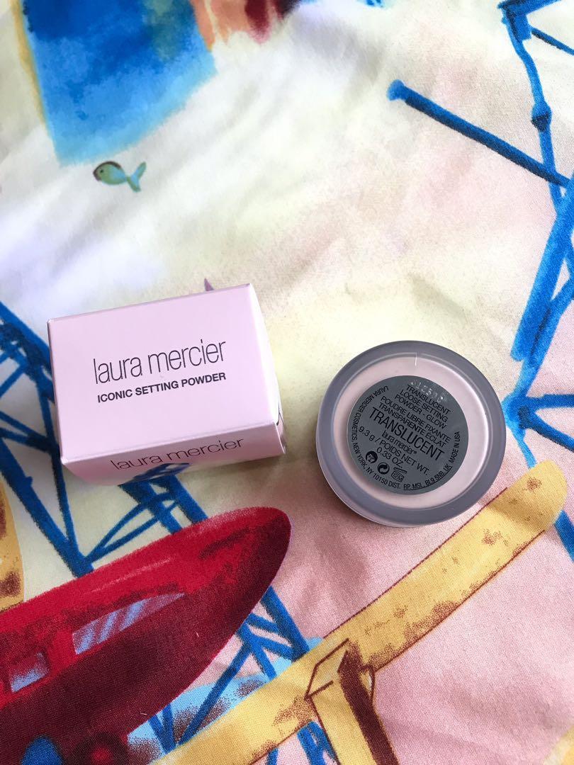 Laura Mercier Translucent Loose Setting Powder - Glow Travel Size