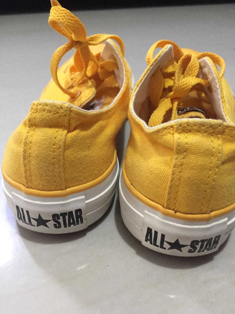 Limited Edition Converse Mustard Shoes