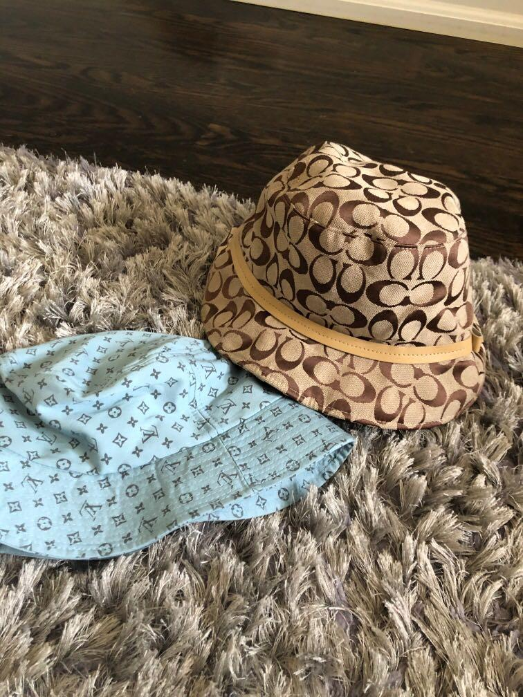 Louis Vuitton or Coach bucket hat - 1 for 25 2 for 40