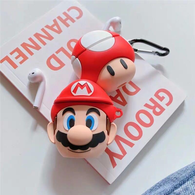 Mario AirPod case, Mobile Phones & Tablets, Mobile & Tablet