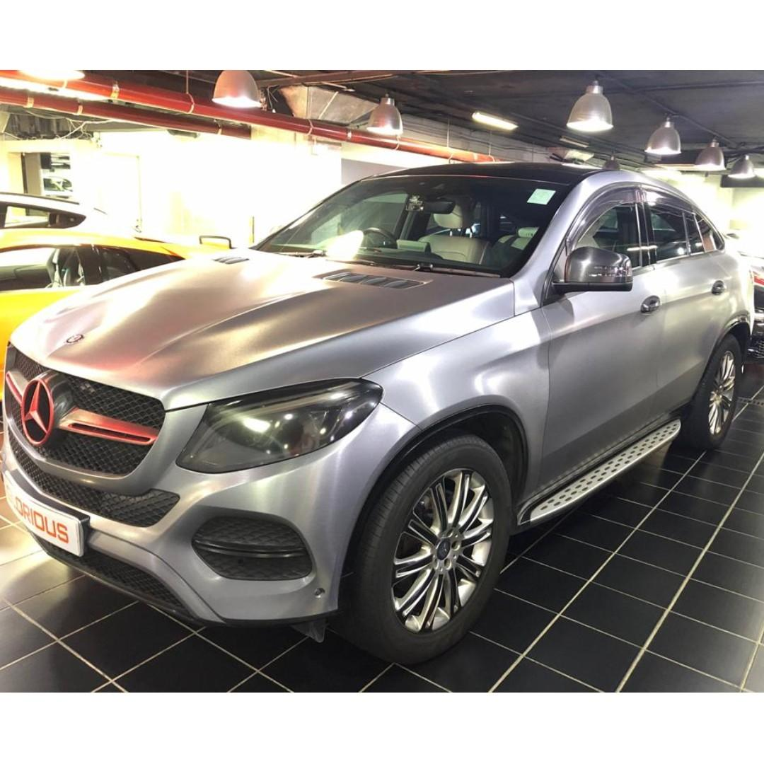 MERCEDES-BENZ GLE400 COUPE 2015