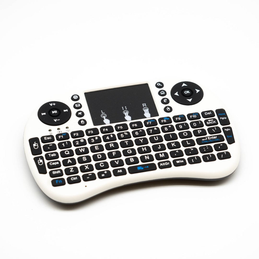 mini keyboard white back light keyboard tv box keyboard mouse pc mac ps4  xbox keyboard remote control