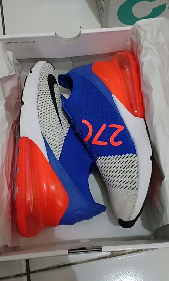 Nike Air Max 270 Flyknit, Men's Fashion, Men's Footwear