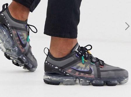 hot sales 2abe4 d85ff Nike Air Vapormax trainers in black