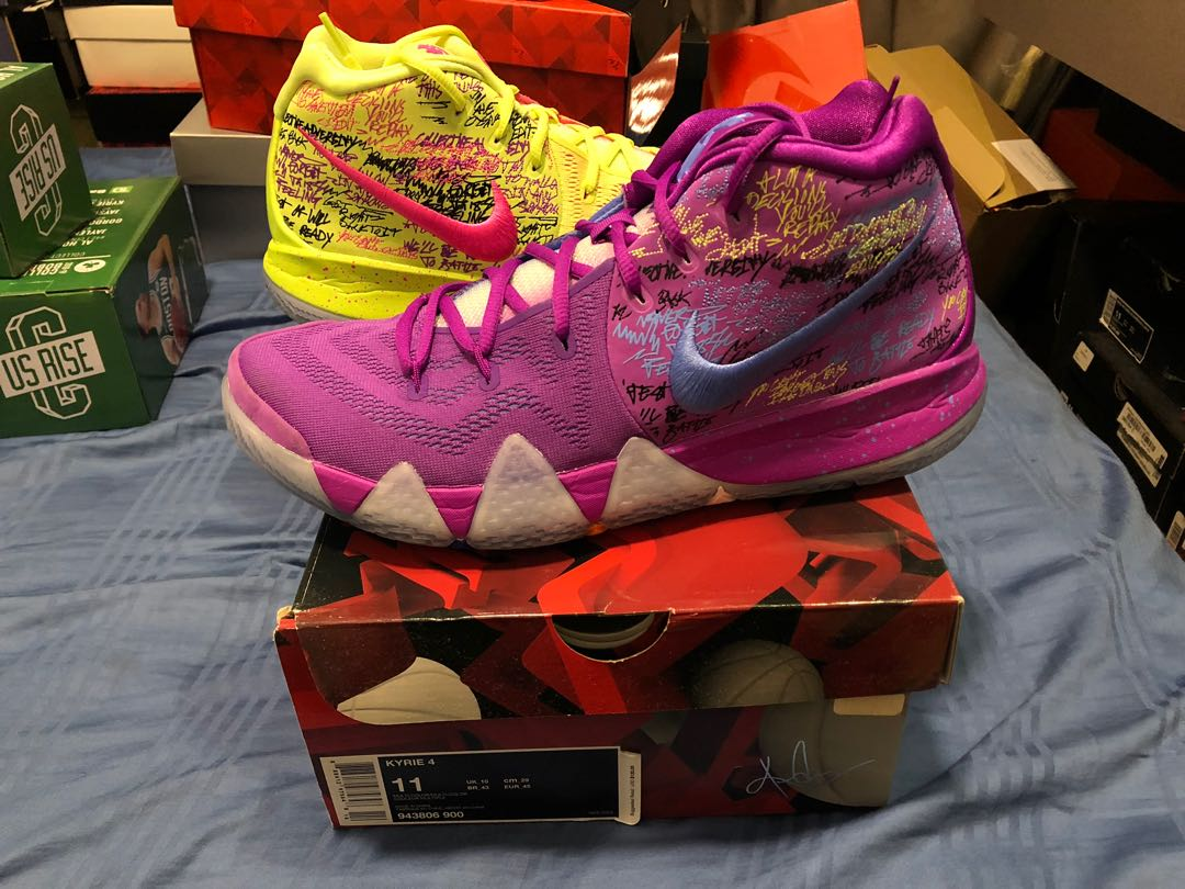 outlet store 92e60 f7f9d Nike Kyrie 4 Confetti