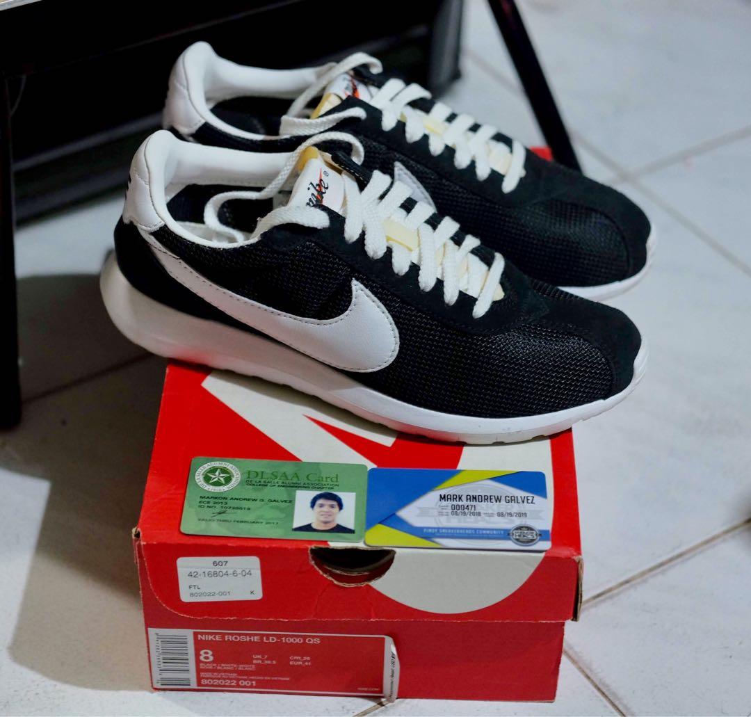 Violar Gárgaras Subjetivo  Nike Roshe Run LD 1000 QS size 8, Men's Fashion, Footwear, Sneakers on  Carousell