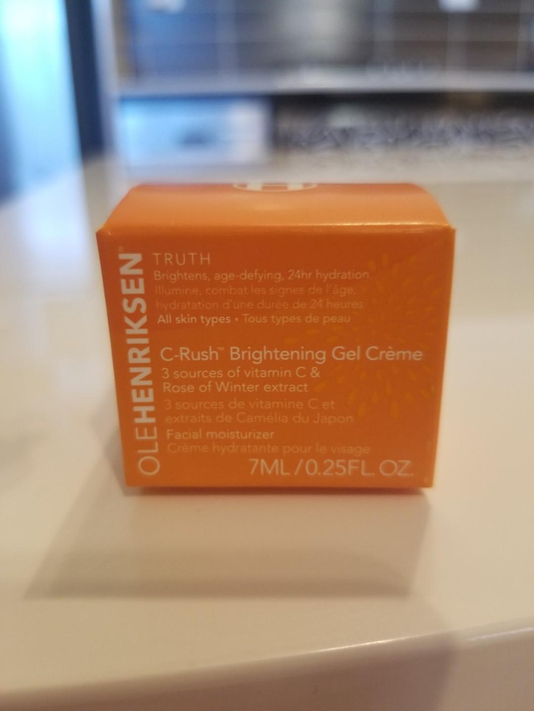Ole Henriksen C Rush Brightenung Gel Creme 7ml sample size