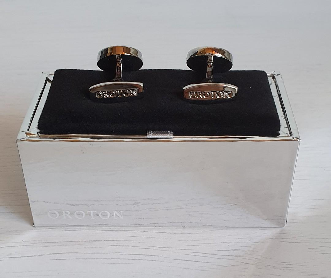 Oroton Mother of Pearl Cufflinks Brand New. RRP $129