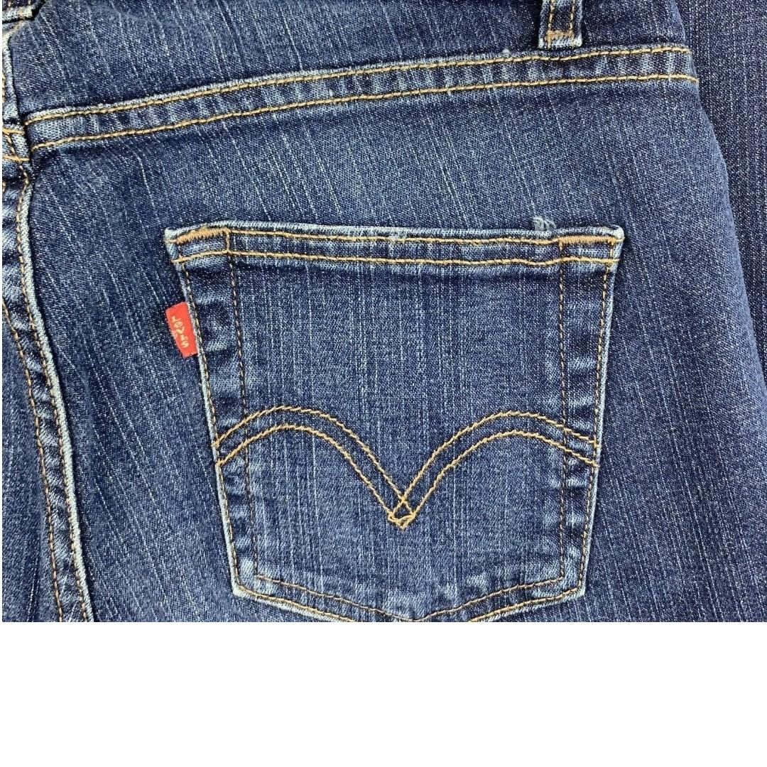 Pre-owned Authentic Levi's 529 Women Bootcut Jeans (size: 4M)