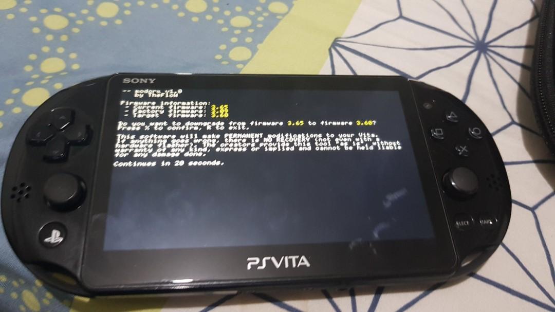 Ps vita modding/hacking/downgrade/eng patch service, Toys