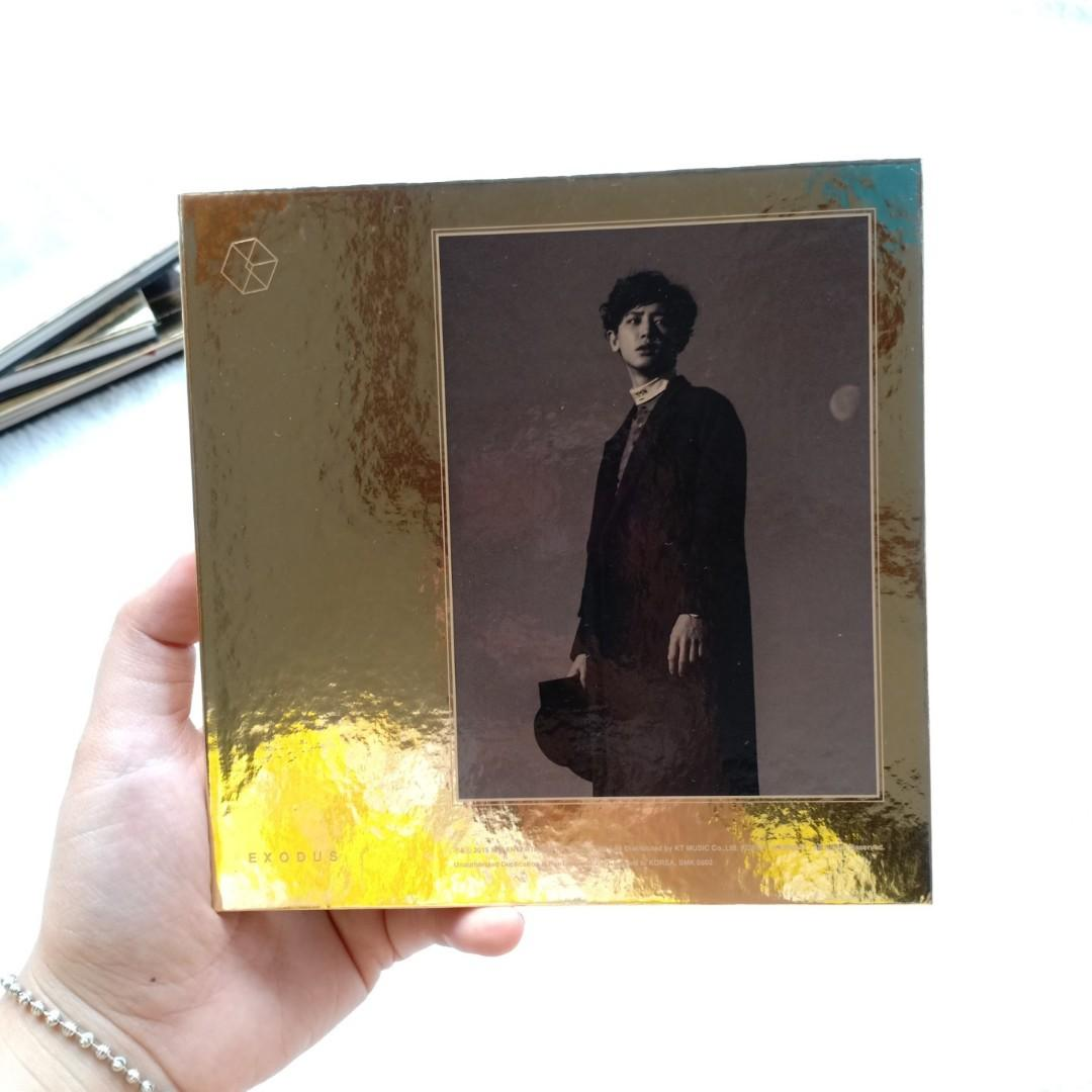 (RARE COVER) ALBUM EXO - EXODUS COVER CHANYEOL PHOTOCARD SEHUN BAEKHYUN
