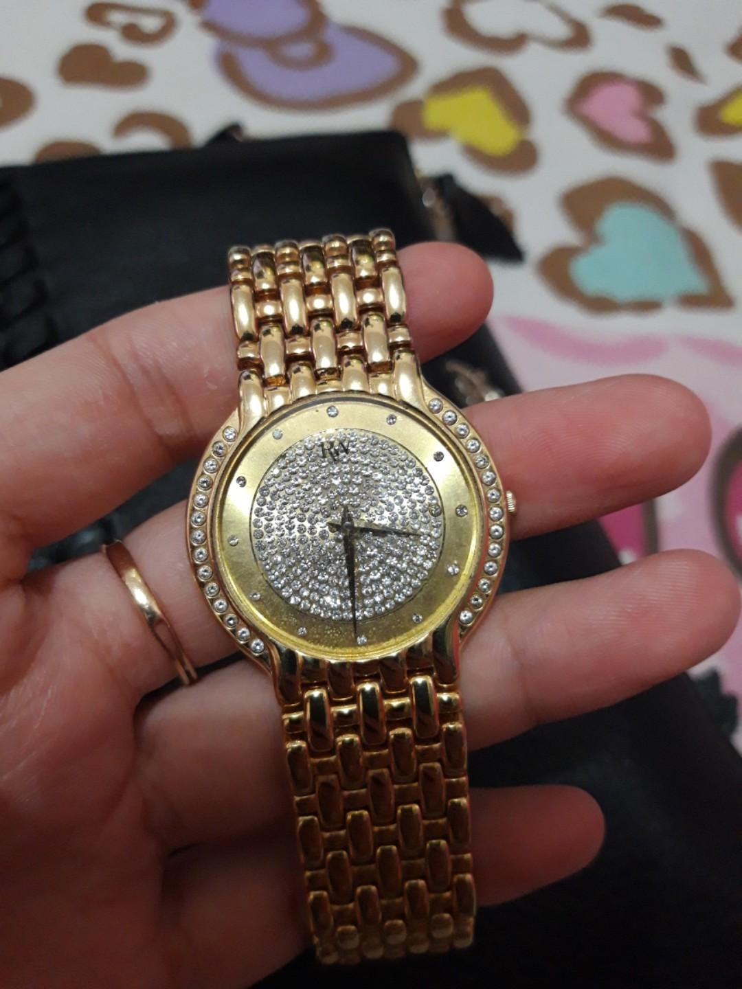 RAYMOND WEIL FILEDIO (18K gold plated with diamond, Limited Edition)