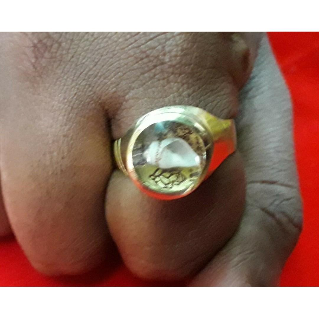 Richman Money & Luck Attracting Magical Power Ring 786 Spells Wealth