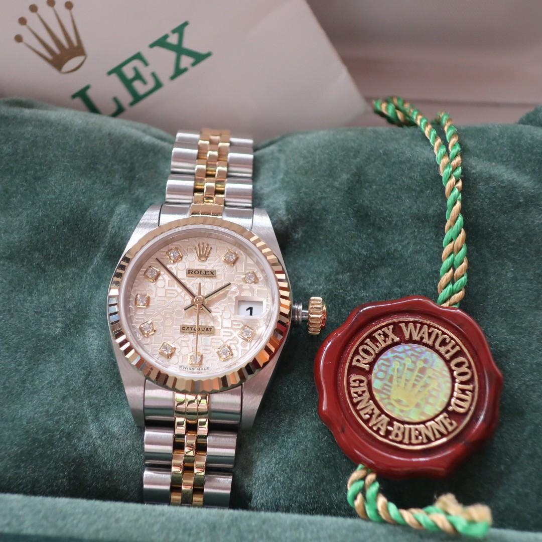 Rolex 79173 - Datejust 26 Diamonds - Swiss Made