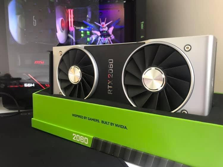 Rtx 2080 Founders edition on Carousell