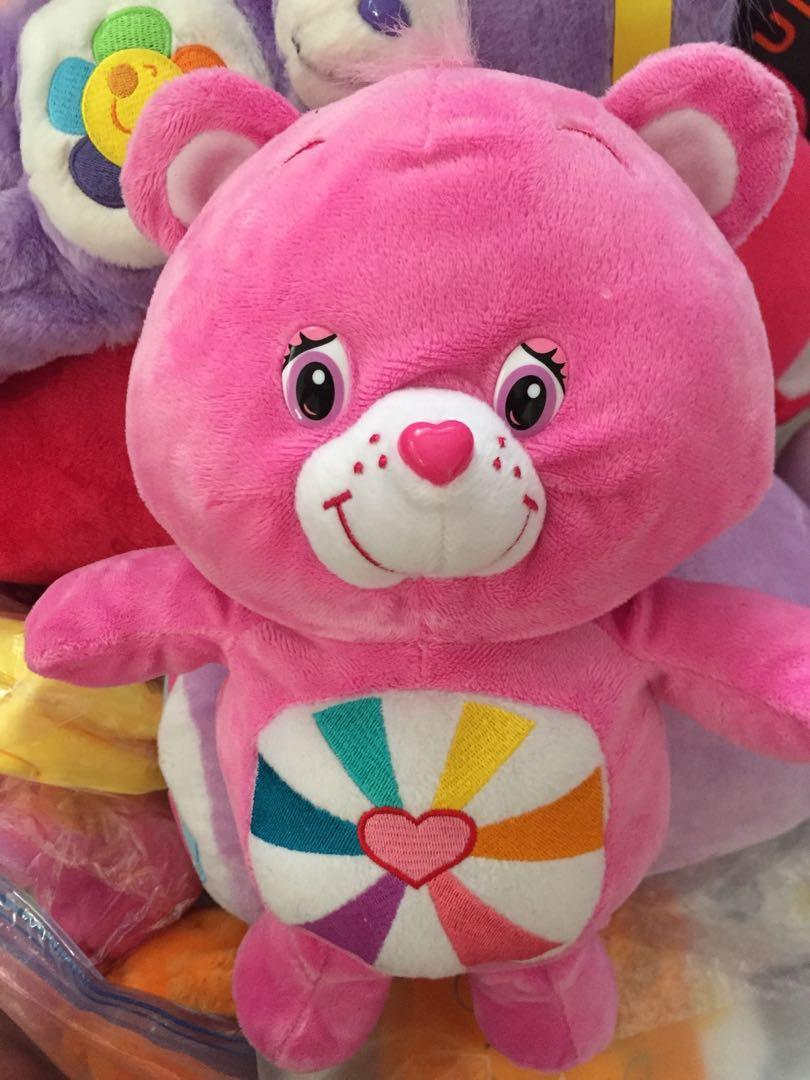 sample sale : Care Bears  12寸大公仔 出口日本 愛心熊 Line Brown 熊 7-11 鬆弛熊 Duffy Bear 多買優惠 愛心熊 禮物 (市面無賣)sample公仔