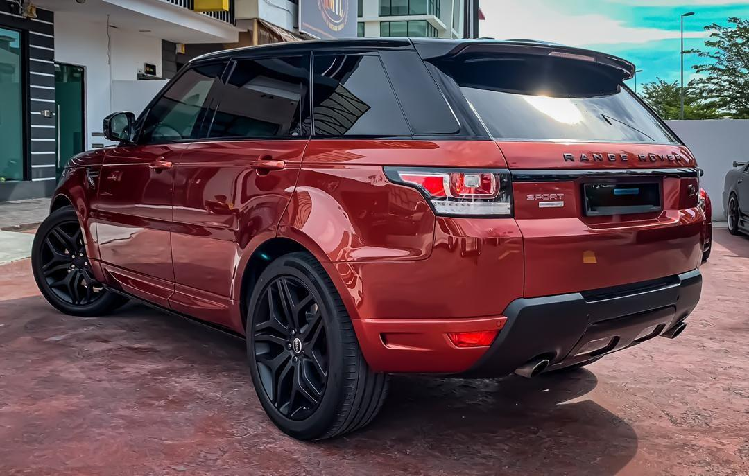 SEWA BELI>>LAND ROVER SPORT AUTOBIOGRAPHY DYN V8 4999CC SUPERCHARGED  FULL SPEC 2014