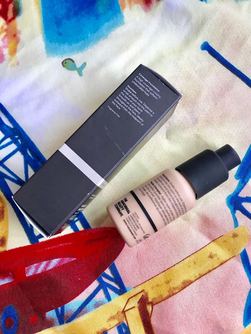 The Ordinary Coverage Foundation in 1.2Y