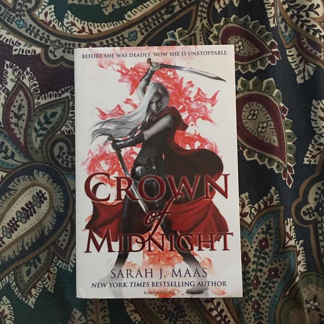 Throne of Glass Series by Sarah J. Maas (Crown of Midnight, Queen of Shadows, Empire of Storms)