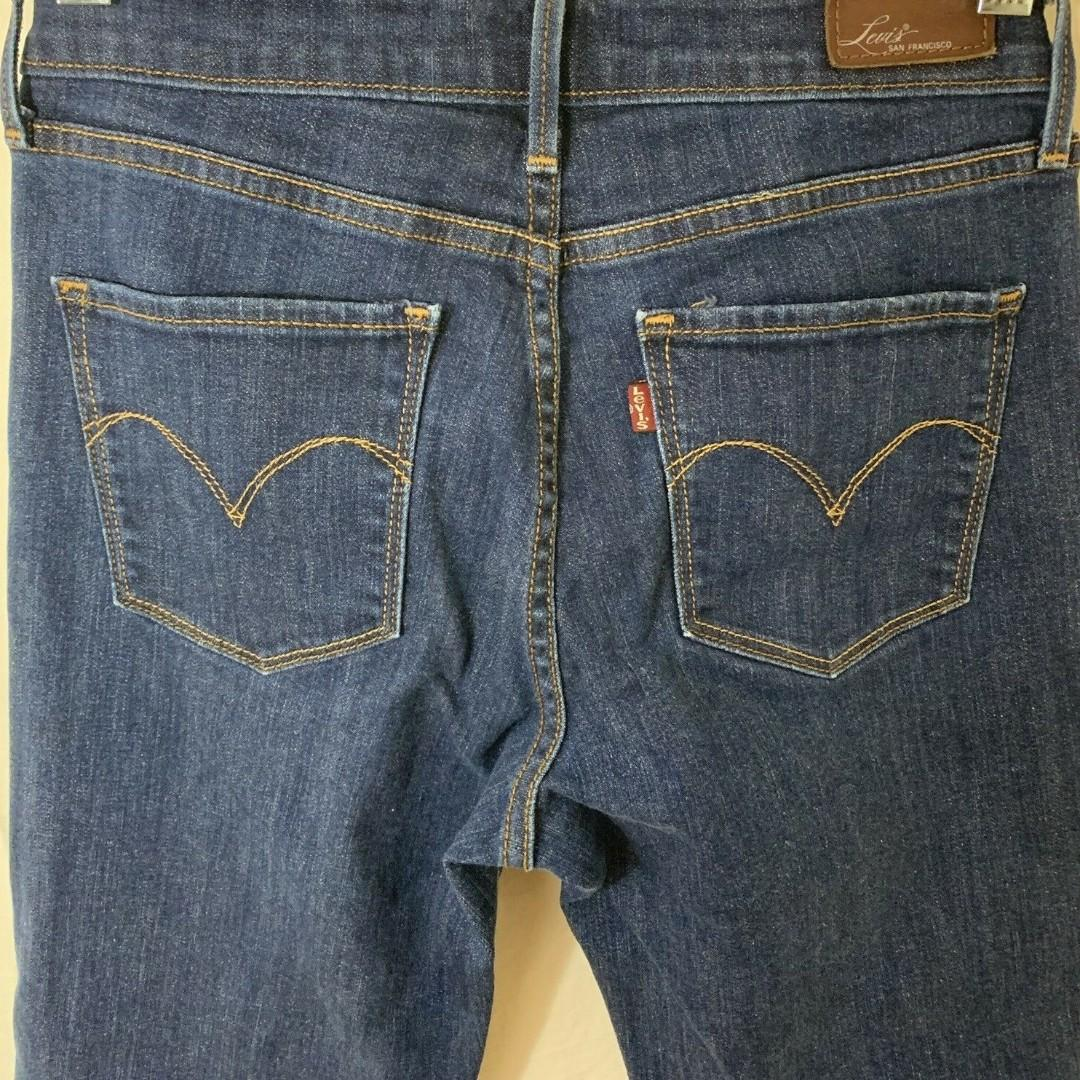 Used Authentic Levi's San Francisco Women Straight Demi Curve (size: 28x32)