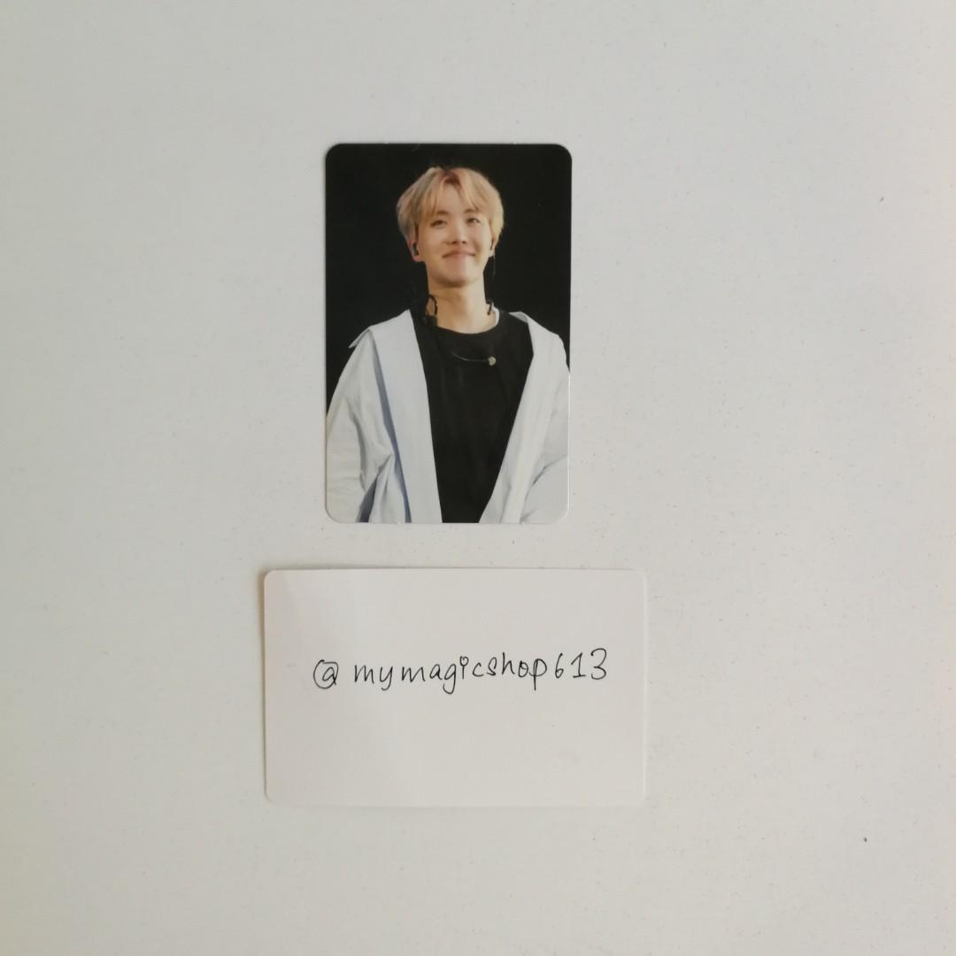 <WTT> BTS LIVE TRILOGY EPISODE III THE WINGS TOUR IN SEOUL DVD PHOTOCARD