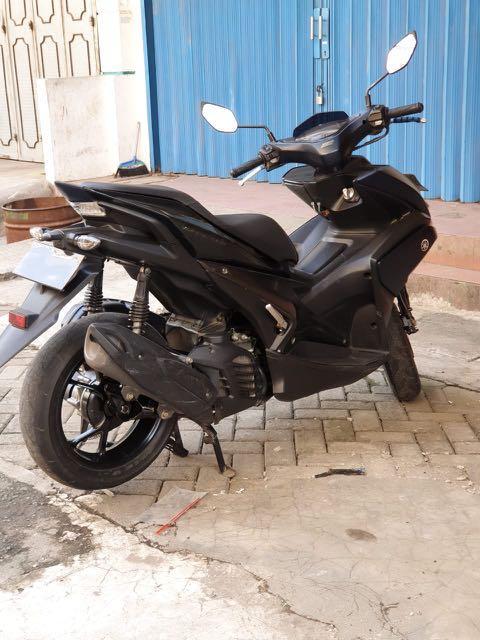 Yamaha AEROX 155 2018 abs type tertinggi