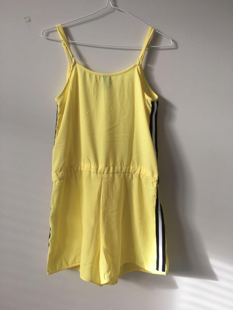 Yellow Factorie Playsuit