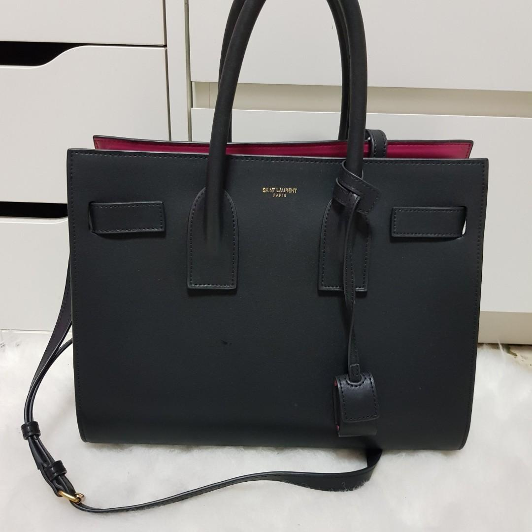 75eae991 YSL Saint Laurent Classic Small Sac De Jour Bag on Carousell