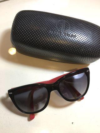 ALAIN DELON黑框太陽眼鏡