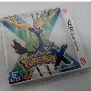 【全新僅拆!】pokemon 精靈寶可夢 X