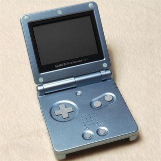 任天堂日版GBA SP 銀色 #004