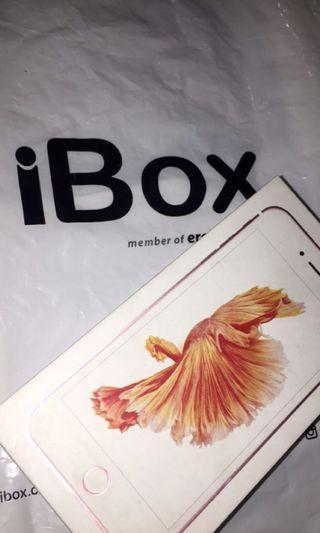 iPhone 6s plus rosegold ex resmi apple