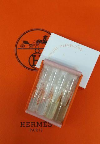 新【優惠價數量有限】💝HERMES Perfume 2ml 4支小盒裝 #合共8ml 抵試抵買【優惠除時完,過後回原價】