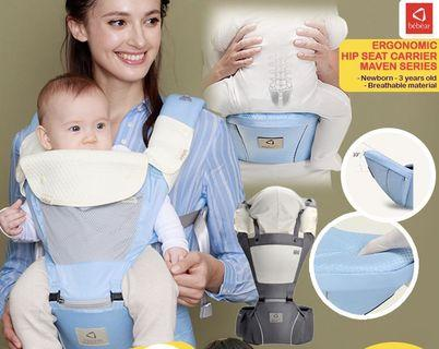 Baby Carrier BEBEAR MAVEN SERIES (GREY)