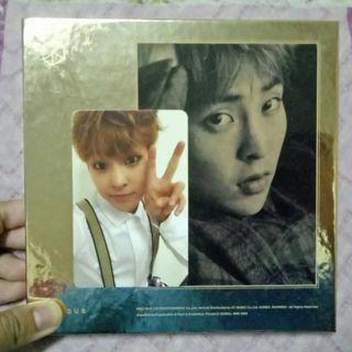 EXO Exodus Xiumin Cover Gold/Korean album + photocard