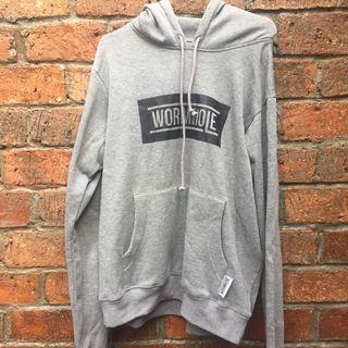 WORMHOLE Authentic Grey Sweater
