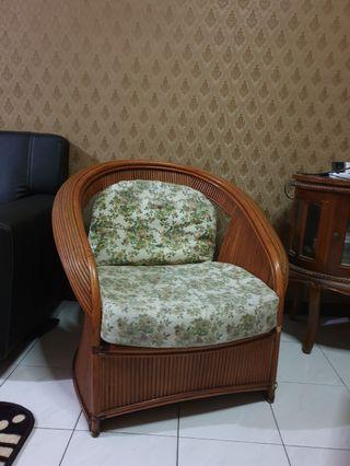 RARE Rattan Arm Chair