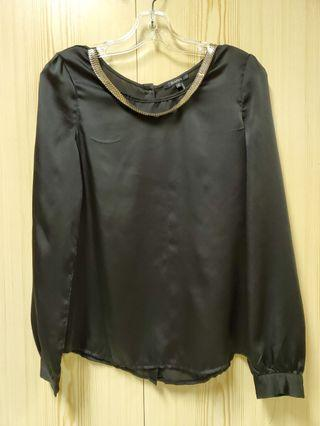 Gold chain blouse