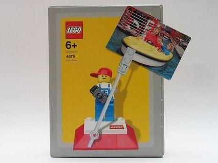 全新未開盒 Lego 4678 Figure Photo Holder 人仔相架 (From Legoland) (04年出產)