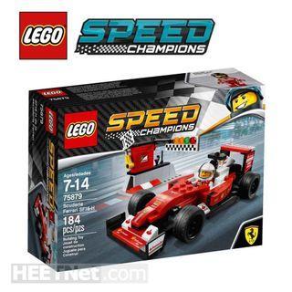 全新未開盒 LEGO 75879 Scuderia Ferrari SF16-H Champion 系列 (2017年出產)