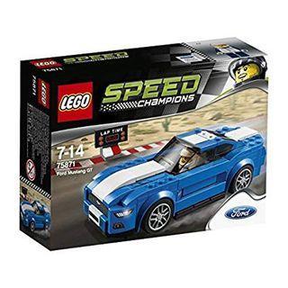 全新未開盒 Lego 75871 Ford Mustang GT Champions 系列 (16年出產)