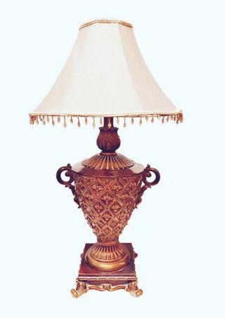 Solid Brass Vintage Table Lamp