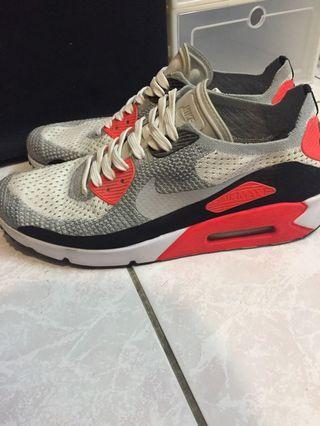 Nike 編織Air max90 鞋況好,版稍微大 平時9.5的也能穿