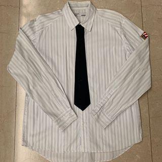 NBHD Neighborhood Stripe Tie Shirt