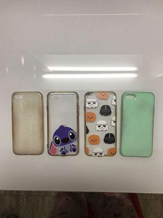 4 pcs Iphone 7 case (Take it all)