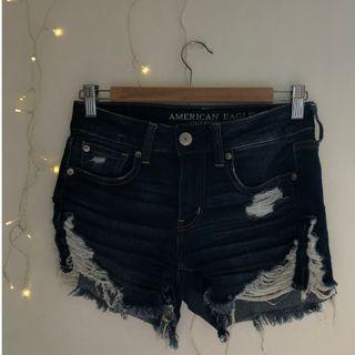 American Eagle ripped stretchy shorts