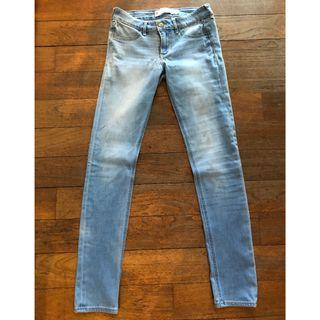 Abercrombie and Fitch denim skinny jeans
