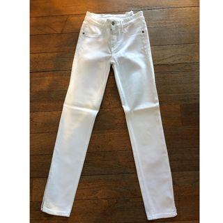 AnF white skinny jeans