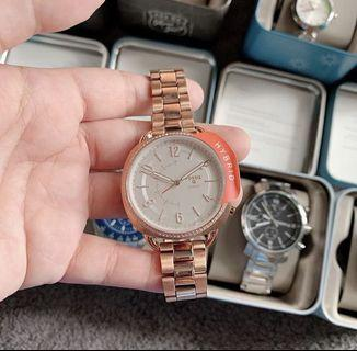 Fossil Rosegold Watch for Women HYBRID 🇺🇸